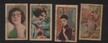 OLD CHINA Pretty ladies cigarette cards  #210